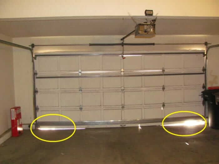 3 Reasons Why Your Garage Door Should not be Partially Open